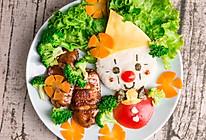 可爱儿童餐:小丑鸡翅,花样美食让小朋友爱上早餐的做法