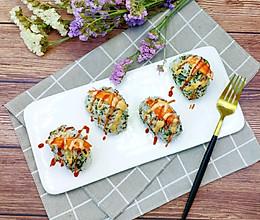 #父亲节,给老爸做道菜#蟹柳海苔饭团的做法