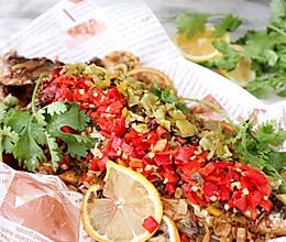 网红爆红纸包鱼—老板电器新品蒸烤一体机C906食谱的做法