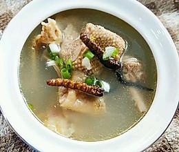 李孃孃爱厨房之——虫草炖老鸭汤的做法