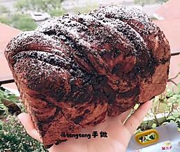年度最火网红雪山巧克力脏脏吐司见参