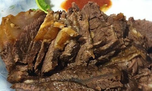 辣汁酱牛肉的做法