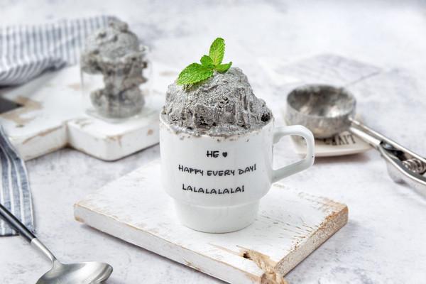 黑芝麻豆腐冰淇凌的做法