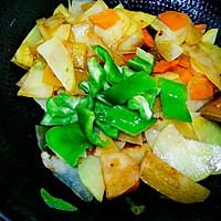 干锅土豆片(全素)的做法图解10