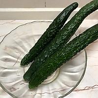 经典凉菜蒜香拍黄瓜的做法图解1