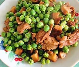 香菇炒豌豆的做法