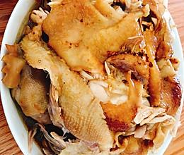 无水高压锅焗鸡的做法
