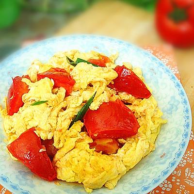 快手国民菜——西红柿炒鸡蛋