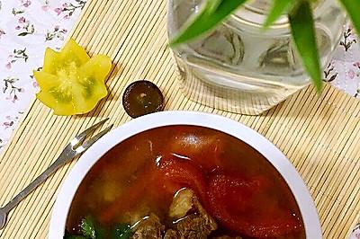 牛肉柿子湯