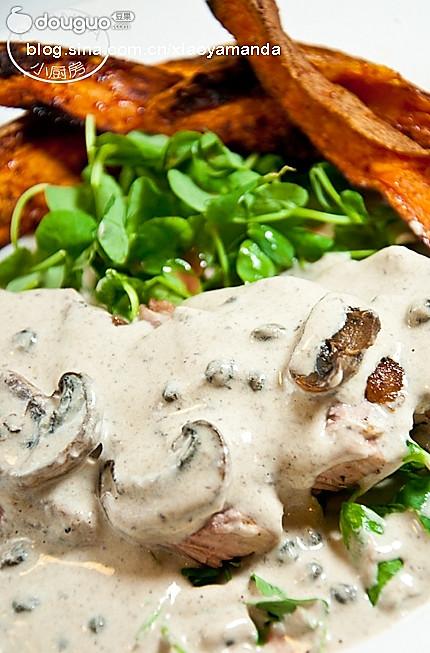奶油蘑菇酱(百搭西餐酱料)的做法