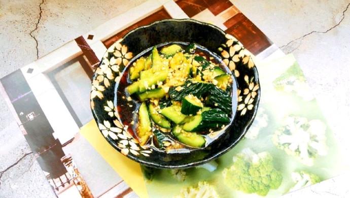 拍着吃的黄瓜凉菜