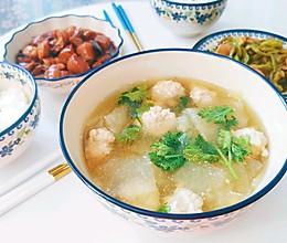 #不容错过的鲜美滋味#冬瓜丸子汤的做法