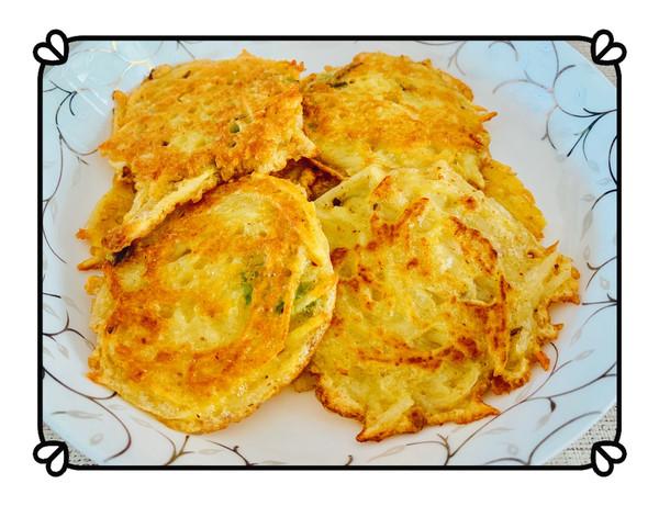 葱香鸡蛋土豆饼的做法