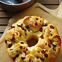 日式炼乳蔓越莓手撕面包的做法图解13
