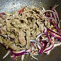 洋葱孜然牛肉的做法图解8