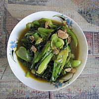 青菜炒肉丝