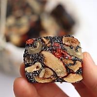黑芝麻红枣核桃糕的做法图解9