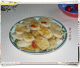 澳门美食:自制桂花酱炒年糕的做法
