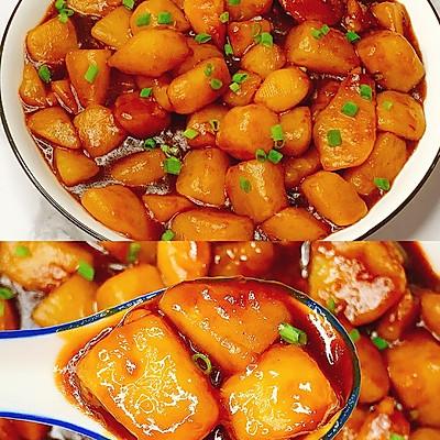 巨下饭,软糯入味!比肉还好吃的红烧土豆
