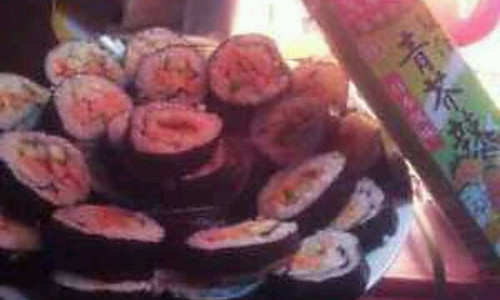 懒人寿司的做法