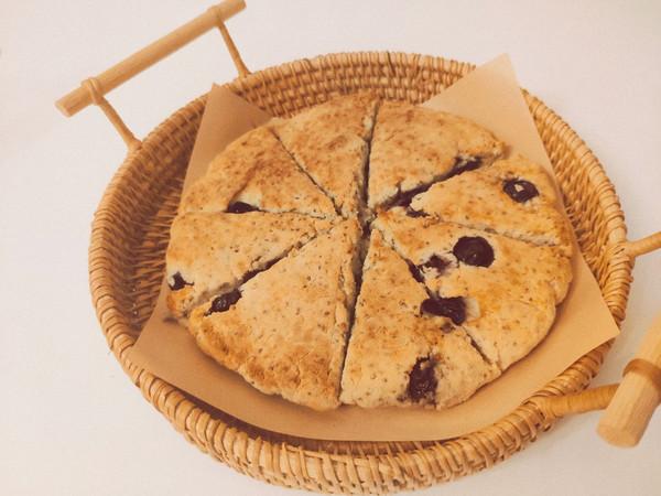 蓝莓生酮司康✨外酥里嫩烘焙必试技巧的做法