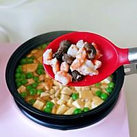 海参豌豆烩豆腐的做法图解12