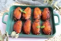 #我们约饭吧#超好吃入味的蒜香孜然蜜汁香烤鸡翅的做法