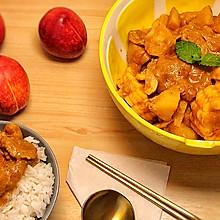 简单下饭:椰香红咖喱牛肉