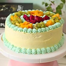 8寸水果奶油蛋糕