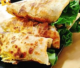 鸡蛋灌饼#换着花样吃早餐#的做法
