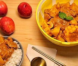 简单下饭:椰香红咖喱牛肉的做法