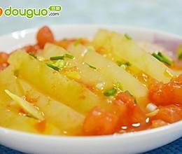 微波茄汁冬瓜的做法