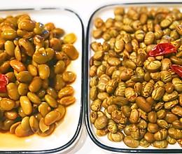 五香青黄豆的做法