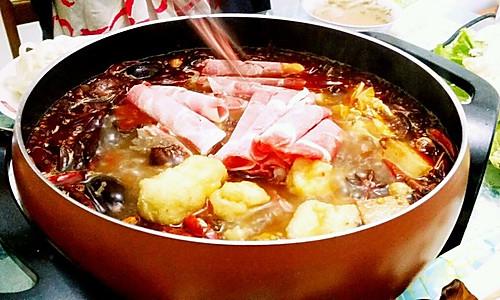 家常自助火锅-----利仁电火锅试用菜谱的做法
