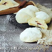 蜂蜜蓝莓云朵小面包(软糯口感)