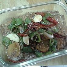 香辣红烧带鱼