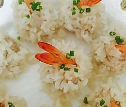 鲜虾珍珠丸子的做法