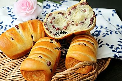 蜜豆中种小面包