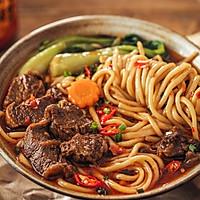 第一次做麻辣牛肉面,一口气吃两碗好吃的做法图解9