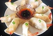#我们约饭吧#一只大虾锅贴#料足巨过瘾的做法