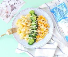 西兰花玉米土豆沙拉的做法