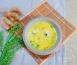 #人人能开小吃店#营养价值高的海参小米粥的做法