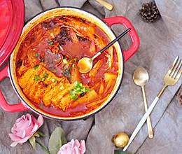 【小砖头UP私藏菜】韩式辣酱汤(更有减脂控热版哟)的做法