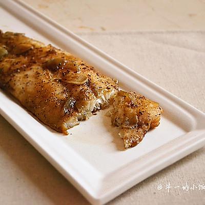 黑椒香烤龙利鱼