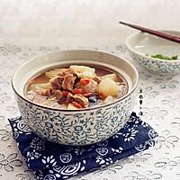 羊肉萝卜汤的做法图解7