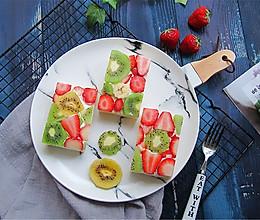 花式水果吐司的做法