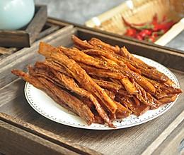 #憋在家里吃什么#自制辣条的做法