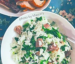 今冬的第一碗猪油菜饭的做法