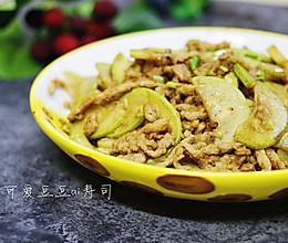 笋瓜炒肉丝的做法