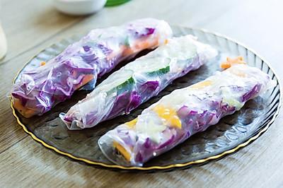 #美食新势力#夏日感爆棚的越南春卷